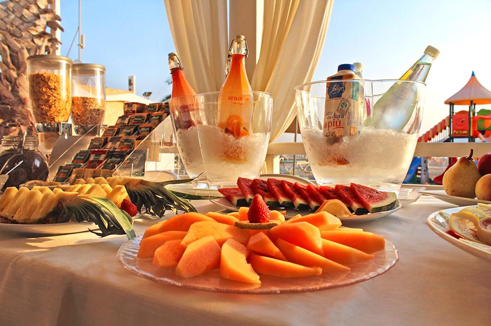 Colazione in Spiaggia Cavalluccio Marino Rimini