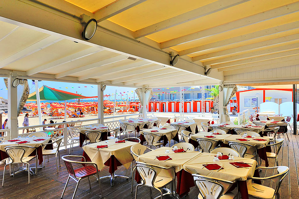 Das Restaurant Residence Cavalluccio Marino Rimini